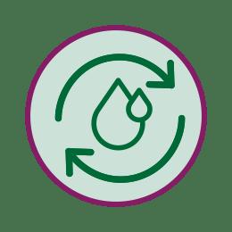 icona effetto fluidificante del muco