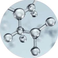 icona molecole acido ialuronico